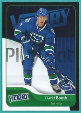 2011-12 Upper Deck Victory Black of #270 David Booth
