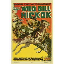 Great Adventures of Wild Bill Hickok Classic Cliffhanger Serial DVD Bill Elliott