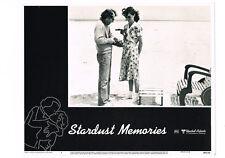 STARDUST MEMORIES WOODY ALLEN JESSICA HARPER CHARLOTTE RAMPLING LOBBY CARD