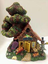 Rabbits Creepy Corner Store Poohs Hundred Acre Halloween Village Bradford SALE