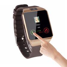Bluetooth Smart Watch Camera SIM Slot For Samsung Galaxy S8 Plus J3 Prime LG HTC