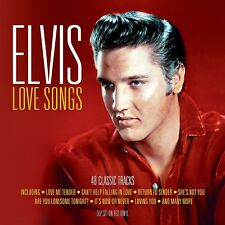 Elvis Presley - Love Songs (3LP Gatefold 180g Red Vinyl LP) NEW/SEALED