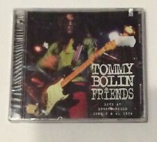 TOMMY BOLIN - Live At Ebbets Field June 1974 - New! - ZEBRA REC. 1999 1st. ed.
