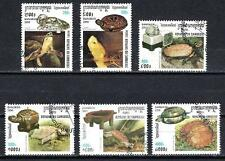 Animaux Tortues Cambodge (179) série complète 6 timbres oblitérés