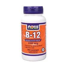 B-12 1000mcg 250 loz Now Foods, Energy Vitamin B12 FAST SHIPPING