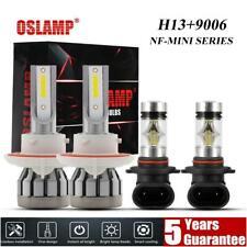New listing 4x 6000K H13 9006 Led Headlight Kit Fog Bulb For Dodge Ram 1500 2500 3500 06-08