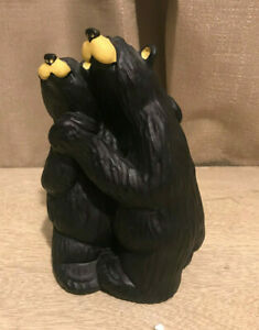 "Big Sky Carvers BEARFOOTS ""Swing Bear Black Bear Collection Jeff Fleming"
