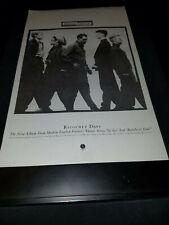 Modern English Ricochet Days Rare Original Promo Poster Ad Framed!