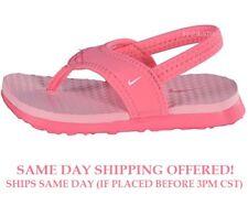 Ships Today! New Nike Celso Infant/Toddler Sandal Pink Flip Flop Sz 7 &10