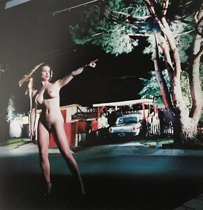 Helmut Newton, 1997, American Playmate III, Los Angeles, Matted PHOTOLITHO