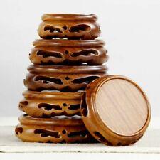 Chinesisch Holz Display Ständer Hohl Podest Blumentopf Einrichtung Carving Basis