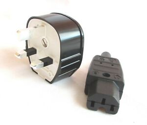 MK Silver plated plug+ Kaiser silver plated IEC Excellent for hi-fi mains cables