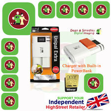 BRAND NEW Genuine HAHNEL Unipal Extra Charger 2200mAh Power Bank charger