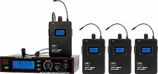 Galaxy Audio 4 User Personal In-Ear Wireless System AS-1400-4