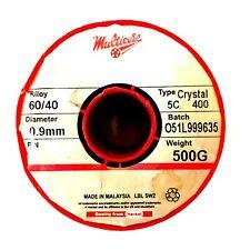 051l999635 Multicore Solder Solder 6040 Hi Act 09mm 500g