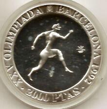 Olimpiada de Barcelona 1990 Atleta Griego @@ F.D.C. @@