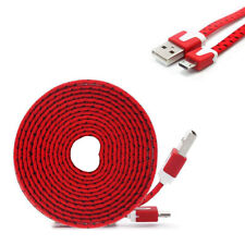 6 Ft Micro USB Charger Charging Cable Data Sync Cord for Android Samsung S7