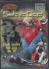 D-Aces SET IT OFF:  Cycle Stunts Too Sick for TV (DVD, 2007) - NEW