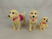 Mattel Barbie Taffy Golden Retriever Walking Dog Lot of 4 2010