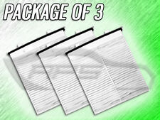 C26089 CABIN AIR FILTER FOR 2009 2010 2011 2012 2013 SUZUKI SX4 - PACKAGE OF 3