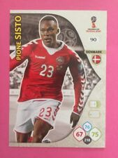ADRENALYN XL CARD WC RUSSIA 2018 - N.90 SISTO DENMARK DANIMARCA