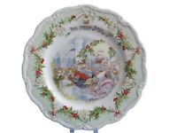 """Royal Doulton Brambly Hedge  The Snow Ball 8"""" Plate - Excellent - Gift Boxed"""