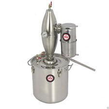 30L Stainless Lavender Essential Oil Pure Rose Water Distiller Moonshine Still