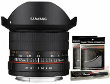 Samyang 12mm F2.8 ED AS NCS FISH-EYE Full Frame Lens for Canon EOS EF DSLR