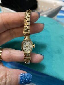 Antique Bulova 10kt Gold Filled Ladies Watch
