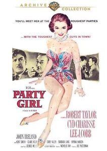 PARTY GIRL (1958 Robert Taylor, Cyd Charisse)  Region Free DVD - Sealed