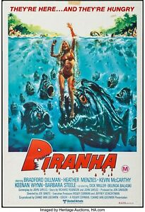 16mm PIRANHA (1978). Cult horror, LPP COLOR Feature Film.