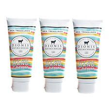Dionis Goat Milk Hand Cream 3 Piece Travel Gift Set - Sea Treasures
