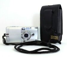 Canon Elph Z3 APS Point & Shoot APS Film Compact Camera with Leather Case, EUC