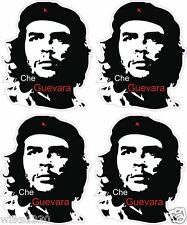 4 che guevara silhouette stickers laptop car van bus truck mini decals dub bike