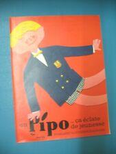 PUBLICITE DE PRESSE VESTRA MANTEAU PIPO VETEMENT ENFANT ECLATE DE JEUNESSE 1962