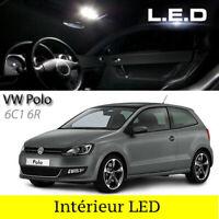 Kit ampoules à LED pour l'éclairage intérieur blanc Volkswagen Polo 6R 6C1