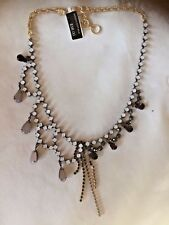 Sold Out In The Company Banana Republic Jet Necklace New