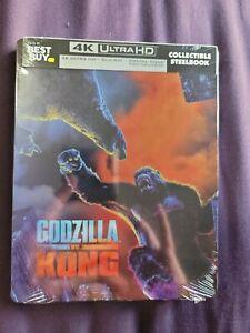 Godzilla vs. Kong 4k Steelbook NEW