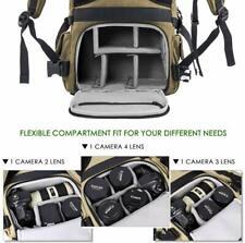 Zecti Camera Backpack Waterproof Canvas DSLR Camera Bag ZT-040 BRAND NEW