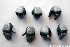 "1/6 7 Gloves ESB Boba Fett by Hot Toys Star Wars for 12"" figure sideshow hands"