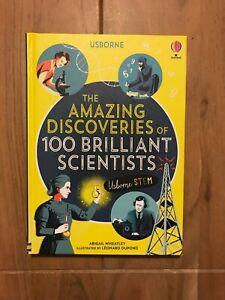 The amazing discoveries of 100 Brilliant Scientists - Usborne