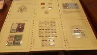 Año completo sellos de España 1992 pruebas etiquetas aerograma A1