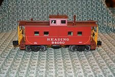 O GAUGE MTH RAIL KING 30-77237 READING STEEL SIDED LIGHTED CABOOSE NEW IN BOX