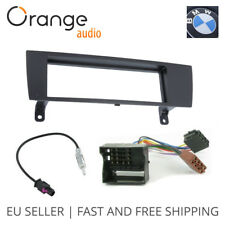 BMW 3 SERIES E90 Single Din Fitting Kit Fascia Car stereo Installation kit Fakra
