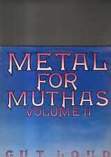 METAL FOR MUTHAS volume II - cut loud LP