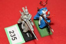 Games Workshop Warhammer Bretonnian Knights of the Realm 2 Models Painted GW OOP