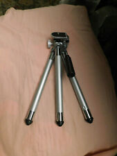"""9"""" Professional Metal Rubber feet Tripod Stand Holder Mount Camera Cell Phone"""