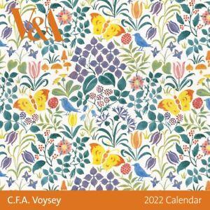 V&A C.F.A Voysey 2022 Square Wall Calendar
