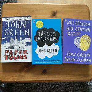 Bundle Of 3 John Green Books
