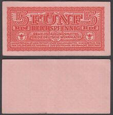 WWII SWASTIKA UNC CONDITION 6RW 27NOV GERMANY 5 Reichspfennig 1942 P M33